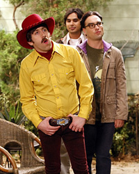 The Big Bang Theory Season 3 quiz