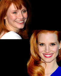 Jessica Chastain and/or Bryce Dallas Howard Movie Trivia