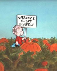 The Great Pumpkin gets a lot fewer people at his rallies than Obama.