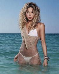 Shakira, mistress of the World Cup.
