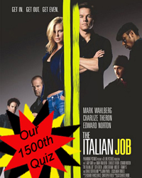 The Italian Job Trivia Quiz