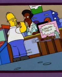 The Simpsons: Homer and Apu