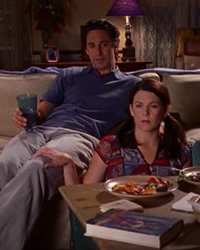 Gilmore Girls, S02E03: Red Light on the Wedding Night