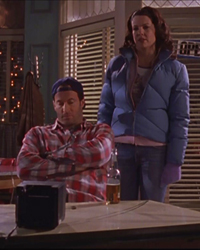 Gilmore Girls, S02E15: Lost and Found