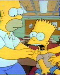 The Simpsons: Bart Gets an F