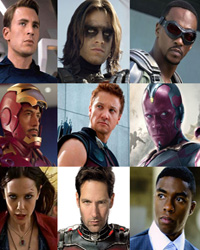 Captain America: Civil War Cast