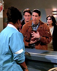Friends, Season 1 Episode 16 and 17: The One with the Two Parts
