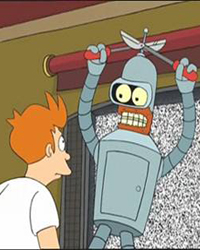 Futurama, Season 1 Episode 03: I, Roommate