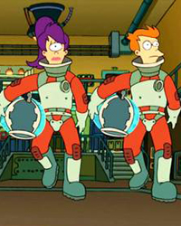Futurama, Season 1 Episode 08: A Big Piece of Garbage