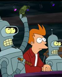 Futurama, Season 2 Episode 06: The Lesser of Two Evils