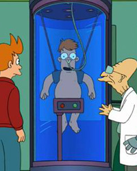 Futurama, Season 2 Episode 10: A Clone of My Own