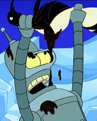 Futurama, Season 3 Episode 05: The Bird-bot of Ice-catraz