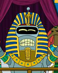 Futurama, Season 3 Episode 17: A Pharaoh To Remember
