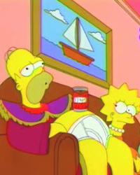The Simpsons: Homer the Great