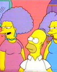 The Simpsons: Homer vs. Patty and Selma