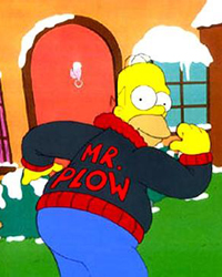 The Simpsons: Mr. Plow