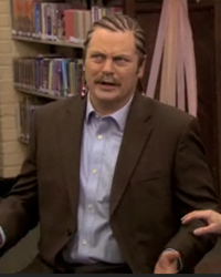Parks and Recreation, S03E04: Ron & Tammy: Part Two