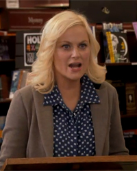 Parks and Recreation, S04E03: Born and Raised