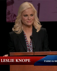 Parks and Recreation, S04E20: The Debate