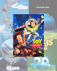 Pixar Feature Films