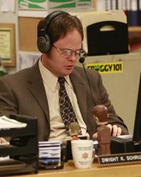 The Office, S04E05: Local Ad