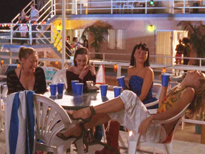 Gilmore Girls, S04E17: Girls in Bikinis, Boys Doin' the Twist Trivia Quiz