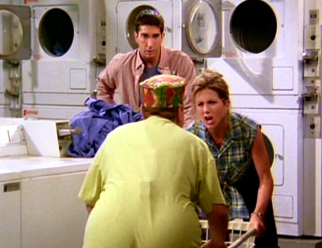 Friends, Season 1 Episode 05: The One with the East German Laundry Detergent  Trivia Quiz