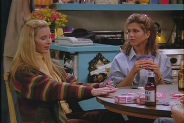 Friends, Season 1 Episode 18: The One with All the Poker Trivia Quiz