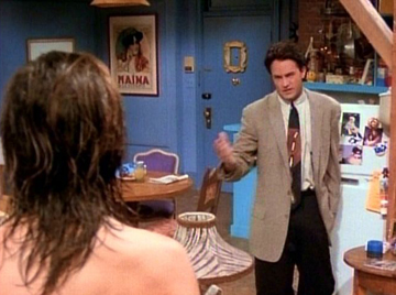 Friends, Season 1 Episode 13: The One with the Boobies Trivia Quiz