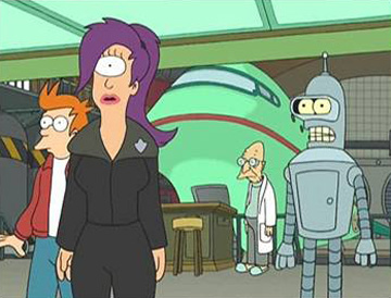 Futurama, Season 1 Episode 01: Space Pilot 3000 Trivia Quiz