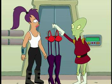 Futurama, Season 1 Episode 04: Loves Labours Lost in Space Trivia Quiz