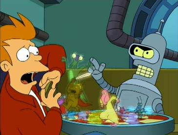 Futurama, Season 2 Episode 02: Brannigan Begin Again Trivia Quiz