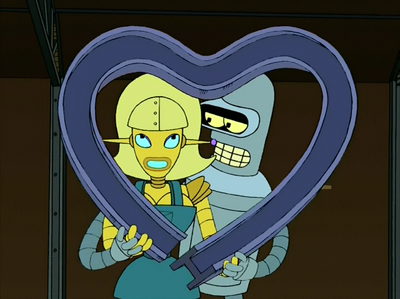 Futurama, Season 3 Episode 06: Bendless Love Trivia Quiz