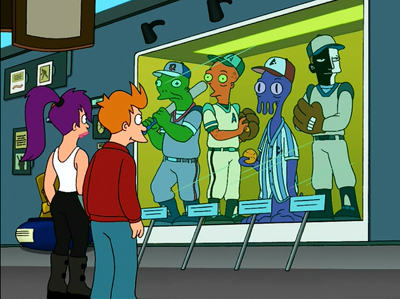 Futurama, Season 3 Episode 16:  A Leela Of Her Own Trivia Quiz