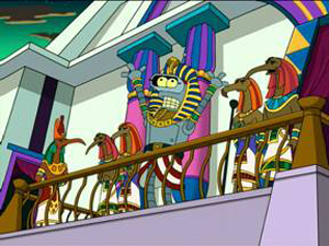 Futurama, Season 3 Episode 17: A Pharaoh To Remember Trivia Quiz