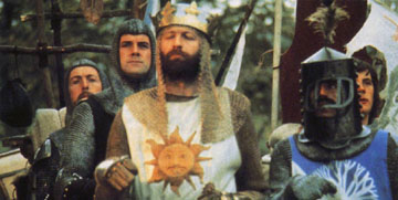 Monty Python and the Holy Grail Trivia Quiz