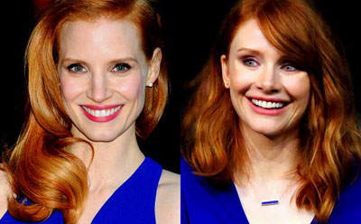 Jessica Chastain and/or Bryce Dallas Howard Movies Trivia Quiz