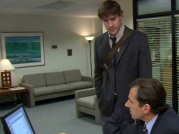 The Office, Season 2 Episode 14: The Carpet Trivia Quiz
