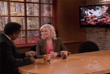 Parks and Recreation, S03E11: Jerry's Painting Trivia Quiz
