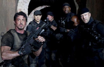 The Cast of The Expendables  Trivia Quiz