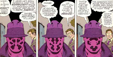 Watchmen (The Graphic Novel) Trivia Quiz